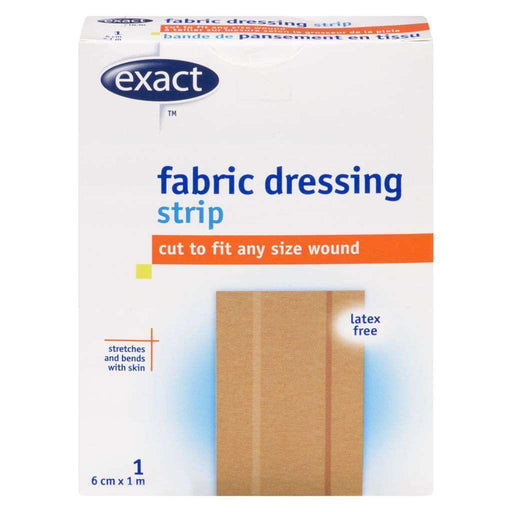 Exact Fabric Dressing Strip 6cm x 1m Exact Couryah