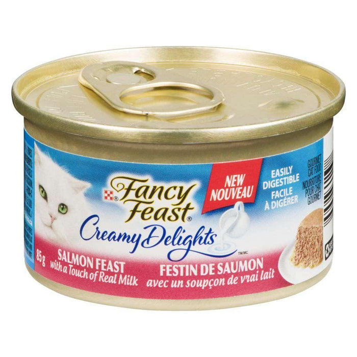 Fancy Feast Creamy Delights Salmon Feast 85g Fancy Feast Couryah