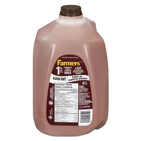 Farmers 1% Chocolate Partly Skimmed Milk 4 L Farmers Couryah