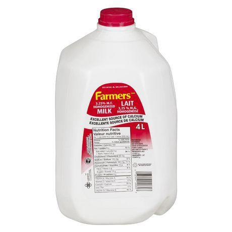 Farmers 3.25% Homogenized Milk 4 L