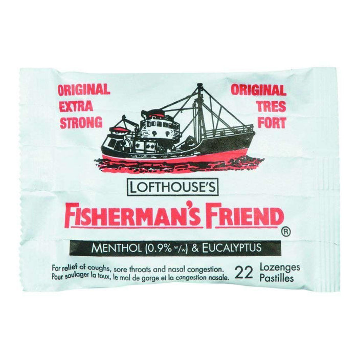 Fisherman's Friend Original Extra Strong 22 Each Fisherman's Couryah