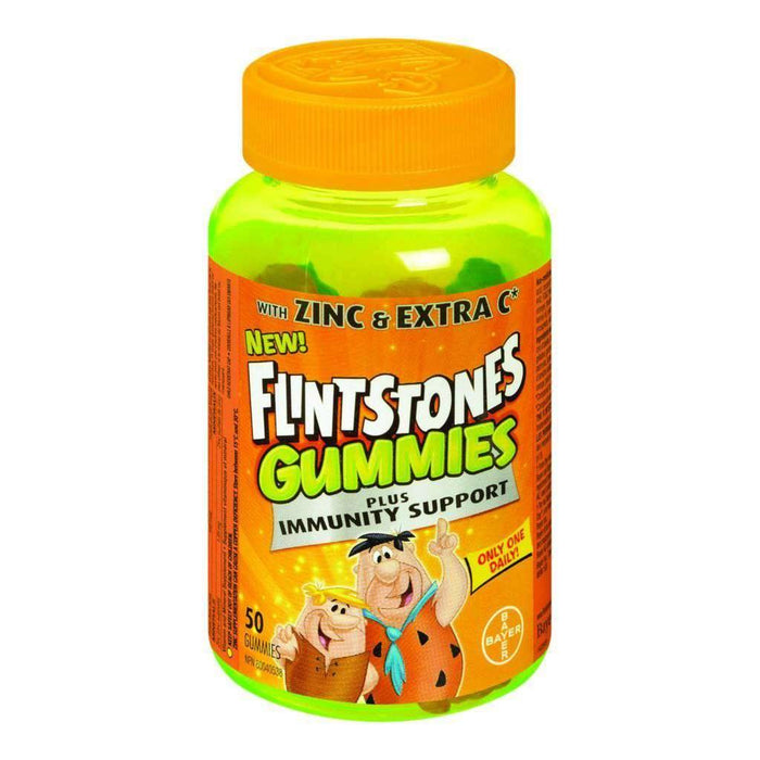 Flintstones Gummies Plus Immunity Support 50 Each Flintstones Couryah