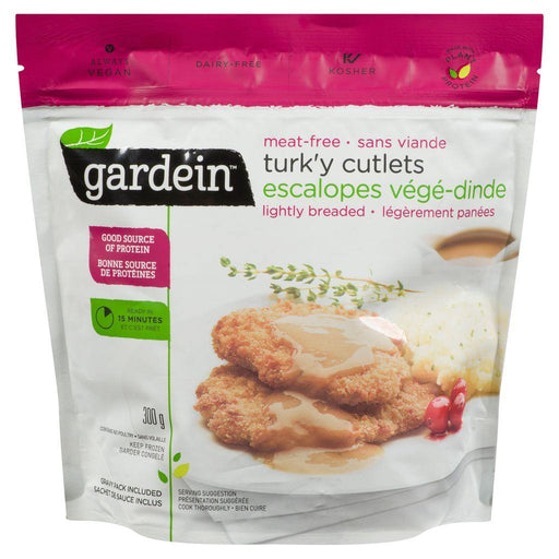 Gardein Lightly Breaded Turkey Cutlets (Meat-Free) 300 g Gardein Couryah