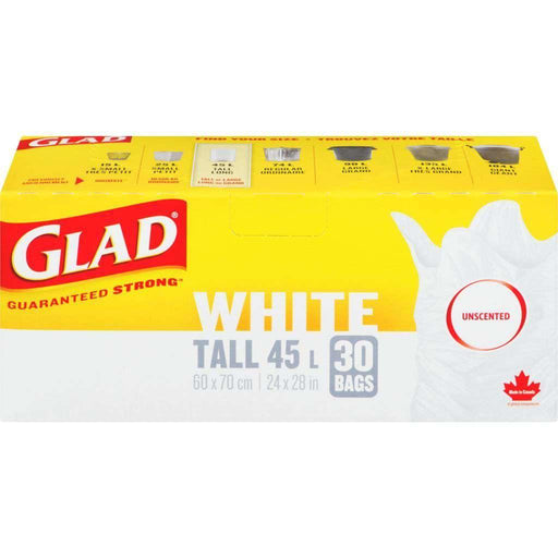 Glad Kitchen Tall 30 Trash Bags 45L Glad Couryah