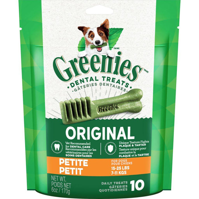 Greenies Petite Natural Dental Dog Treats Pack 170 g Greenies Couryah