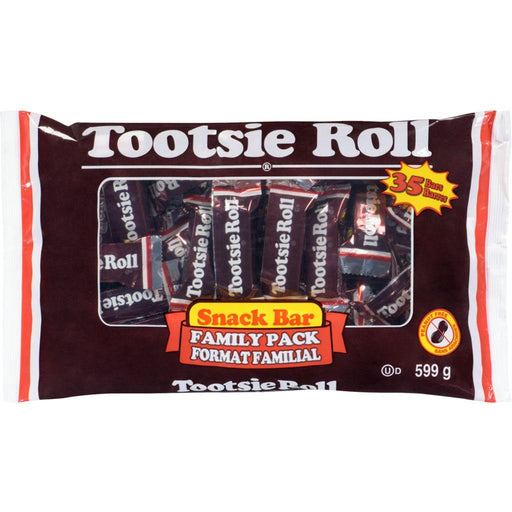 Tootsie Roll Snack Bars 35 Count 599 g Tootsie Roll Couryah
