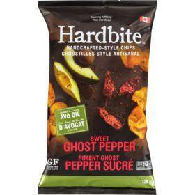 Hardbite Handcrafted-Style Chips, Sweet Ghost Pepper 128 g Hardbite Couryah