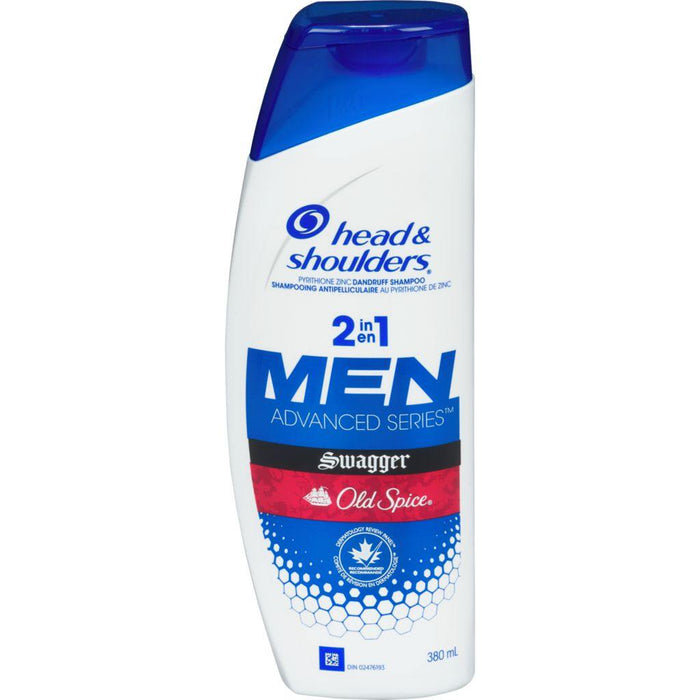 Head & Shoulders Old Spice Swagger Men 2 in 1 Conditioner and Shampoo 380mL Head & Shoulders Couryah