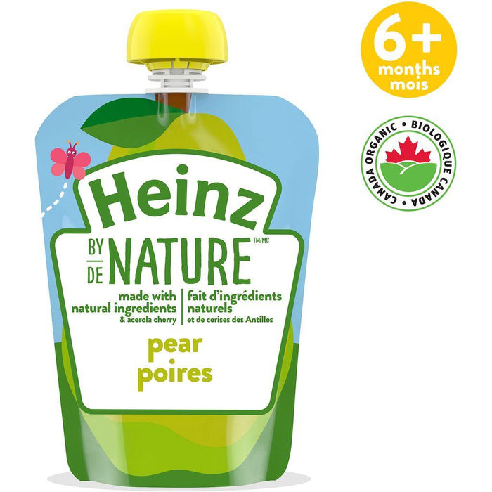 Heinz By Nature Pouch Pear Purée 128mL Heinz Couryah