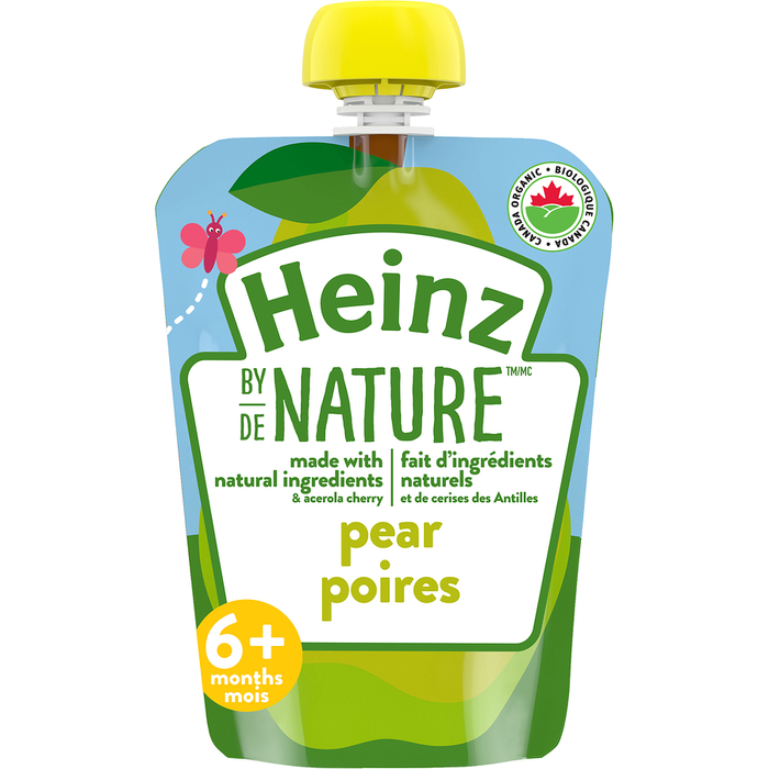 Heinz By Nature Purée Pouch, Pear 128mL