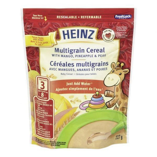 Heinz Cereal Multigrain with Mango Pineapple and Pear 227g Heinz Couryah