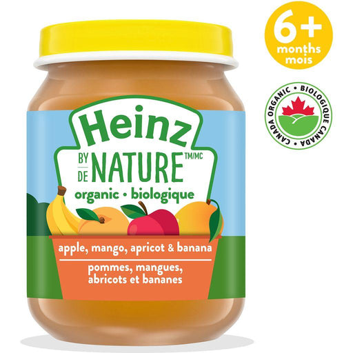 Heinz by Nature Apple, Mango, Apricot & Banana Purée 128 mL Heinz Couryah