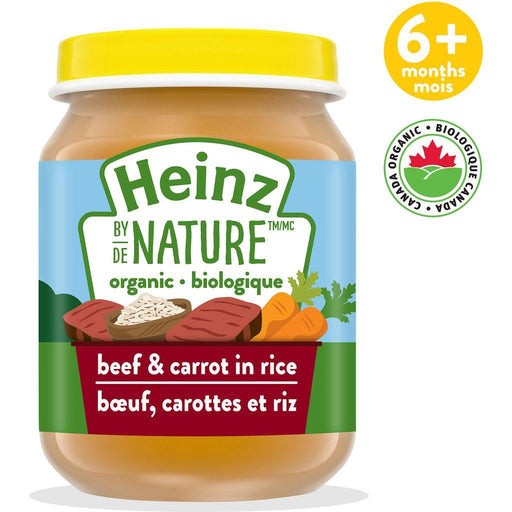 Heinz by Nature Beef & Carrot In Rice Purée 128 mL Heinz Couryah