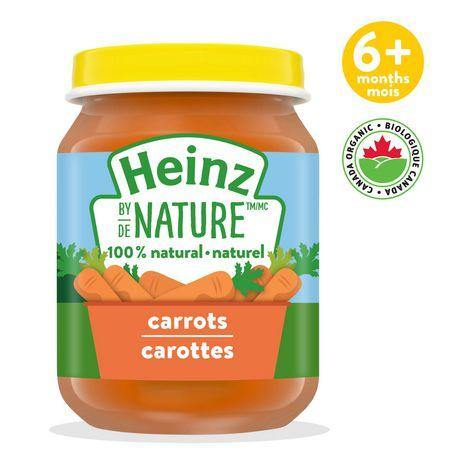 Heinz by Nature Carrots Purée 128 mL Heinz Couryah