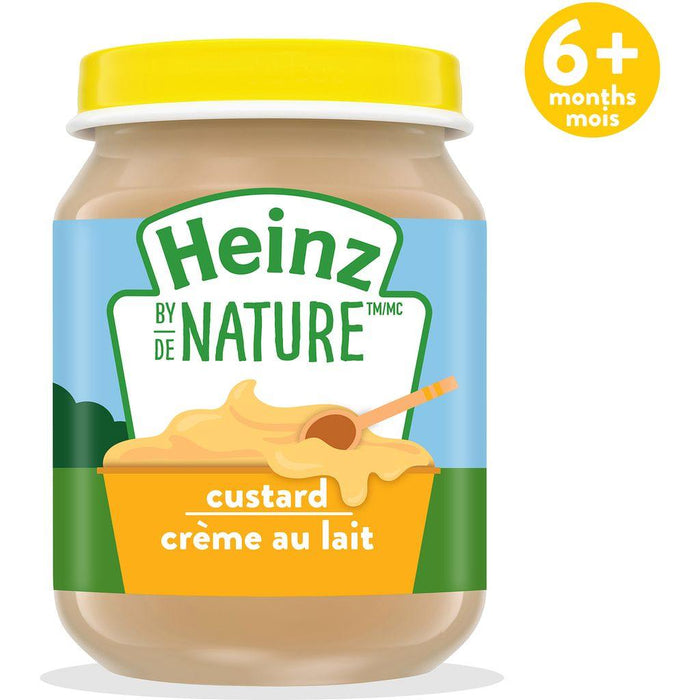 Heinz by Nature Custard Purée 128 mL Heinz Couryah