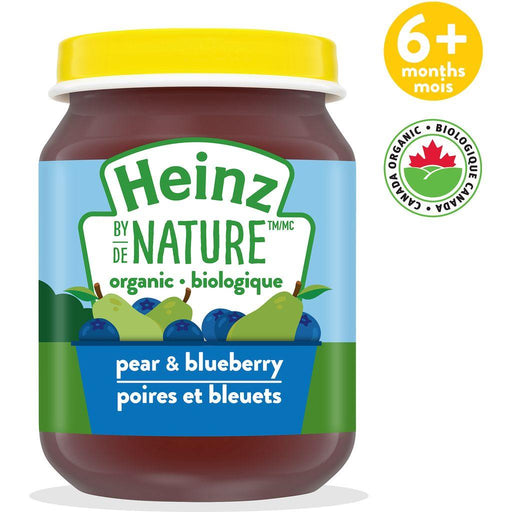 Heinz by Nature Pear & Blueberry Purée 128 mL Heinz Couryah