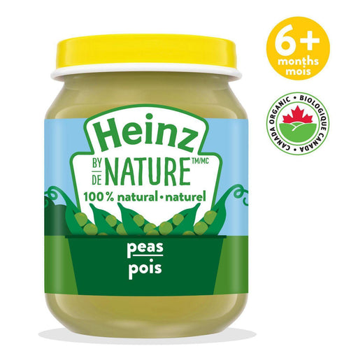Heinz by Nature Peas Purée 128 mL Heinz Couryah