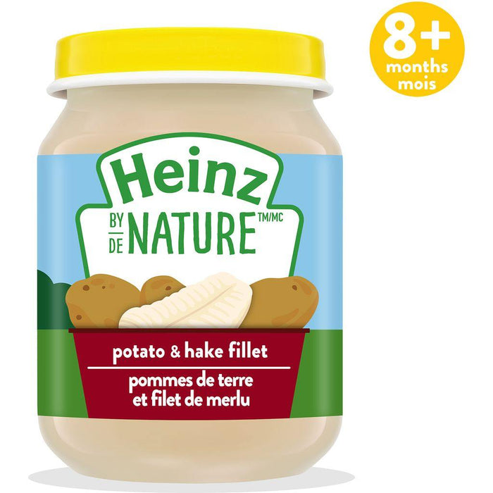 Heinz by Nature Potato & Hake Fillet Purée 128 mL Heinz Couryah