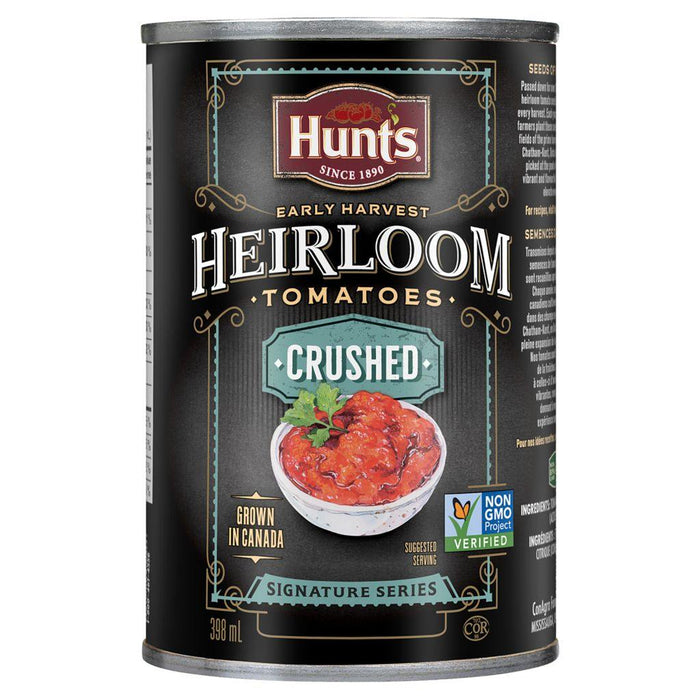 Hunt's Heirloom Early Harvest Crushed Tomatoes 398 mL Hunt's Couryah