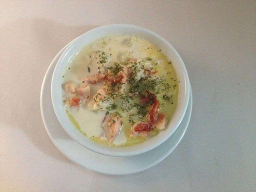 Homemade Seafood Chowder Soups and Chowders Fries & Co