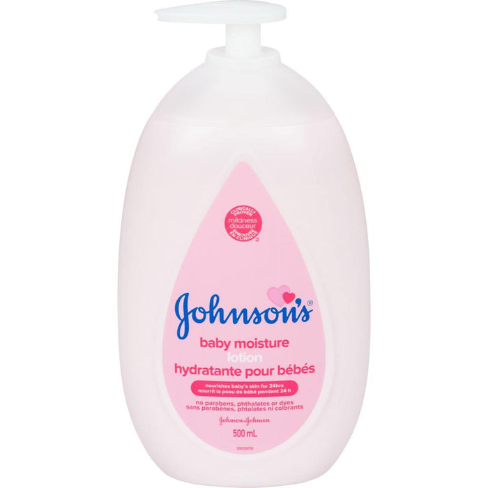 Johnson's Baby Moisture Lotion 500mL Johnson's Couryah