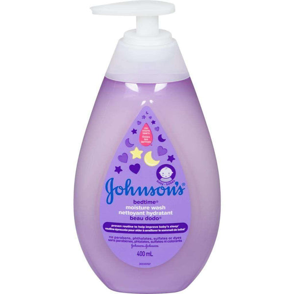 Johnson's Bedtime Moisture Wash 400mL