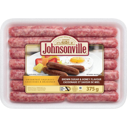 Johnsonville Breakfast Sausages, Brown Sugar & Honey Flavour 375 g Johnsonville Couryah