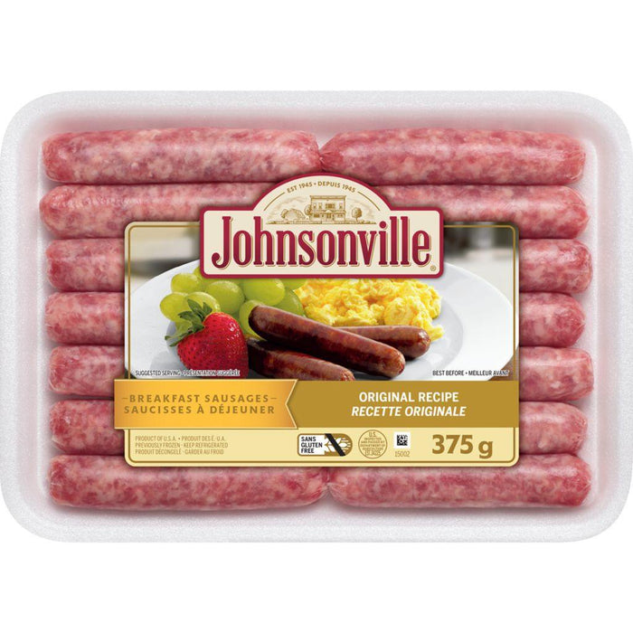 Johnsonville Breakfast Sausages, Original Recipe 375 g Johnsonville Couryah