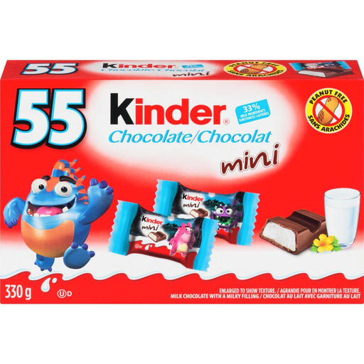 Kinder Snack Size Bars 55 Count 330 g Kinder Couryah