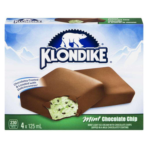 Klondike Mint Chocolate Chip Ice Cream Sandwich (4x125mL) Klondike Couryah