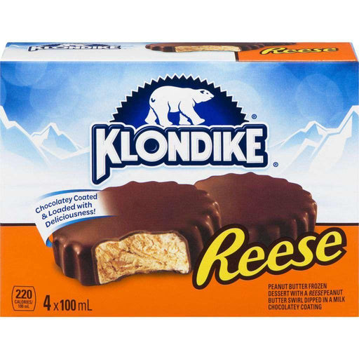 Klondike Reese Ice Cream Bars (4x100mL) Klondike Couryah
