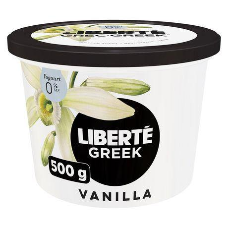 Liberte Vanilla Greek Yogurt 0% 500 g Liberte Couryah