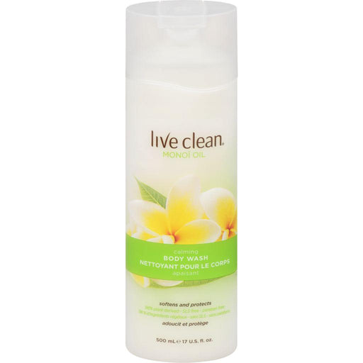 Live Clean, Monoi Oil Body Wash 500mL - COURYAH