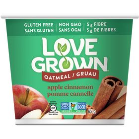 Love Grown Oatmeal, Apple Cinnamon 63g