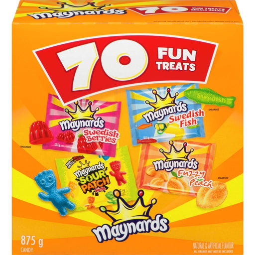 Maynards Snack Size Gummies 70 Count 875 g Maynards Couryah