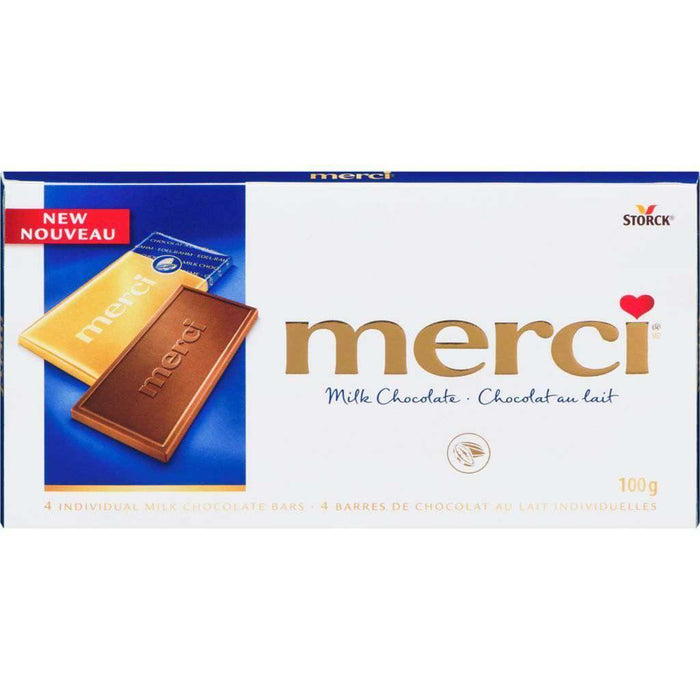 Merci Milk Chocolate 100g Merci Couryah