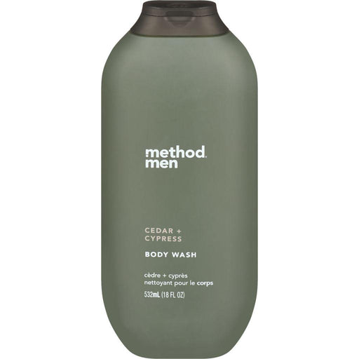 Method Body, Men Cedar + Cypress Body Wash 532mL - COURYAH
