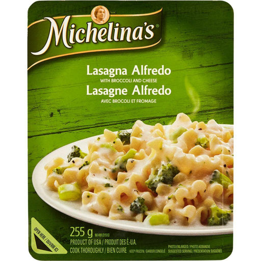 Michelina's Lasagna Alfredo with Broccoli and Cheese 255 g Michelina's Couryah