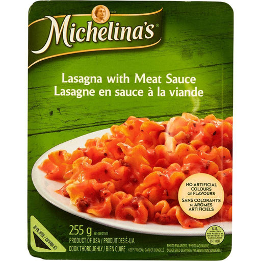 Michelina's Lasagna with Meat Sauce 255 g Michelina's Couryah