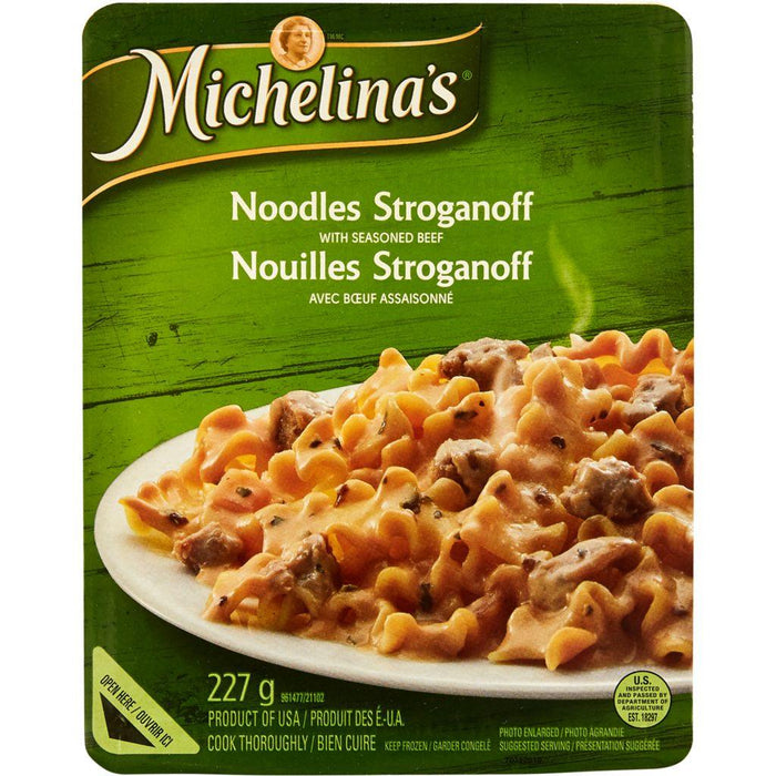 Michelina's Noodles Stroganoff with Seasoned Beef 227 g Michelina's Couryah