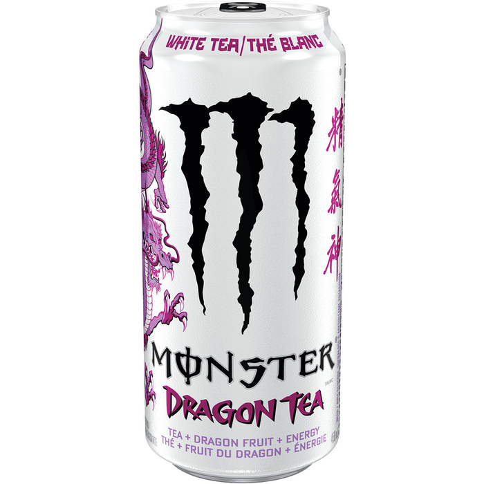 Monster Energy Drink, Dragon Tea, White Tea 458mL