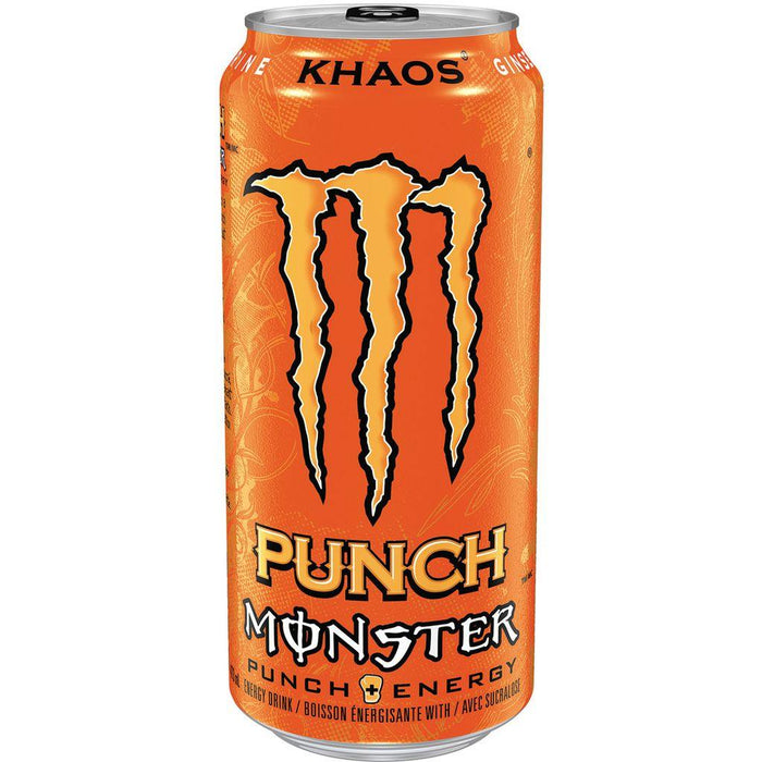 Monster Punch Khaos Energy Drink 473 mL Monster Energy Couryah