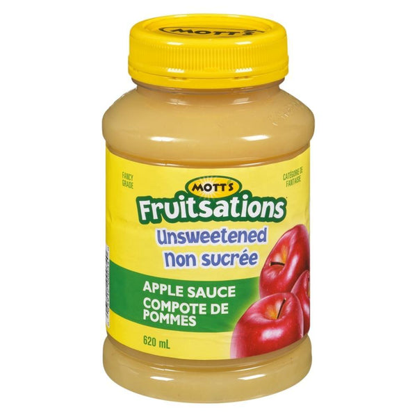 Mott's Fruitsations Unsweetened Apple Sauce 620mL
