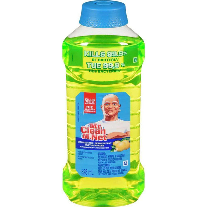 Mr.Clean All-Purpose Cleaner Summer Citrus 828mL Mr. Clean Couryah