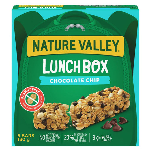 Nature Valley Lunchbox Granola Bars, Chocolate Chip 130g Nature Valley Couryah