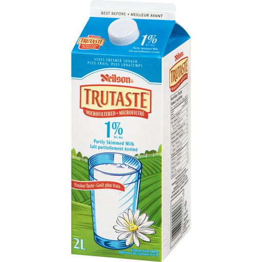 Neilson TruTaste Microfiltered 1% Partly Skimmed Milk 2 L Neilson Couryah