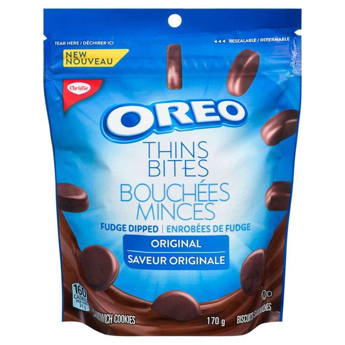 OREO THINS, FUDGE DIPPED ORIGINAL 170 g Oreo Couryah