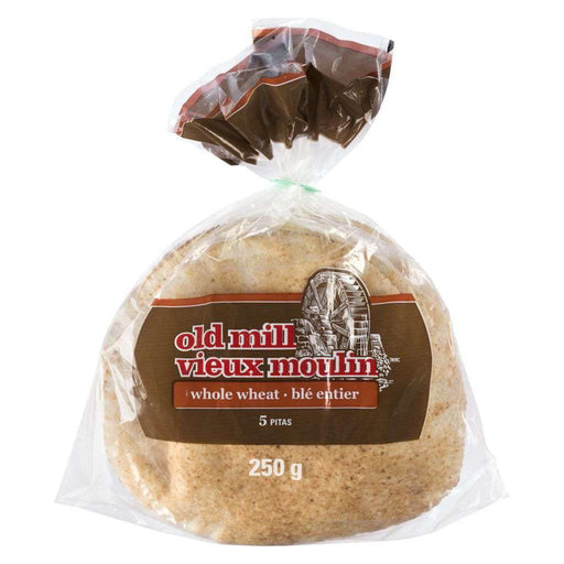 Old Mill Pita Whole Wheat 250g Old Mill Couryah