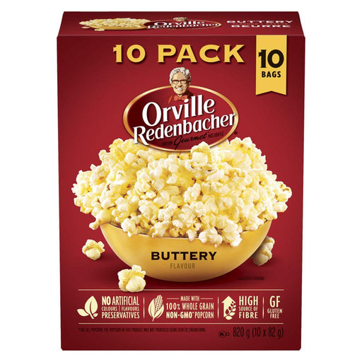 Orville Popcorn Buttery Flavour (10 x 76 g) Orville Couryah