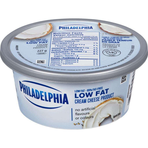 Philadelphia Cream Cheese Spread Low Fat 227g Philadelphia Couryah